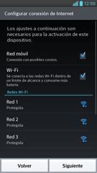 Activa el equipo - LG Optimus G Pro Lite - Passo 5