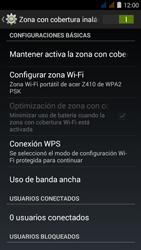 Configura el hotspot móvil - Acer Liquid Z410 - Passo 11