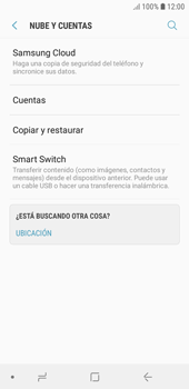 Realiza una copia de seguridad con tu cuenta - Samsung J6 - Passo 5