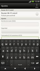 Configura el hotspot móvil - HTC One S - Passo 10