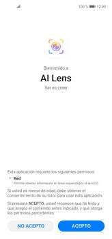 Cómo obtener informaciones con AI Lens - Huawei P40 Lite - Passo 7