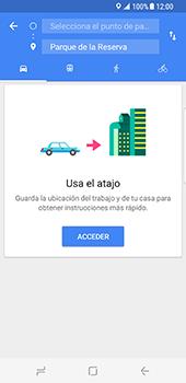 Uso de la navegación GPS - Samsung Galaxy S8 - Passo 11