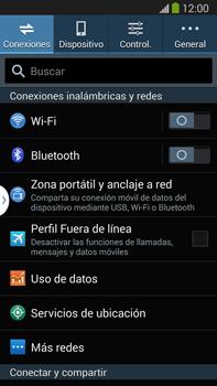 Configura el hotspot móvil - Samsung Galaxy Note Neo III - N7505 - Passo 4