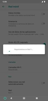 Cómo seleccionar una red en su teléfono manualmente - Motorola Moto G8 Plus (Dual SIM) - Passo 10