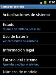Actualiza el software del equipo - Samsung Galaxy Y  GT - S5360 - Passo 6