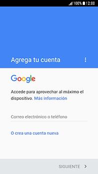 Crea una cuenta - Samsung Galaxy J7 Prime - Passo 3