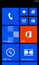 Desactiva tu conexión de datos - Nokia Lumia 520 - Passo 1