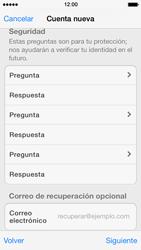 Crea una cuenta - Apple iPhone 5s - Passo 13