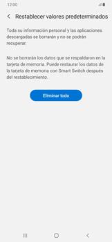 Restaura la configuración de fábrica - Samsung Galaxy A50 - Passo 8