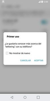 Comparte la conexión de datos con una PC - LG G6 - Passo 7