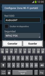 Configura el hotspot móvil - Samsung Galaxy Trend Plus S7580 - Passo 8