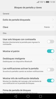 Desbloqueo del equipo por medio del patrón - Huawei Mate 8 - Passo 12