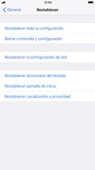 Restaura la configuración de fábrica - Apple iPhone 7 Plus - Passo 5