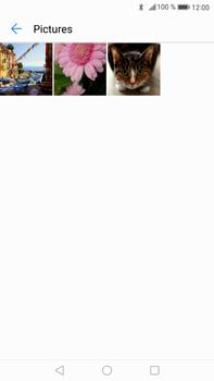Transferir fotos vía Bluetooth - Huawei Mate 9 - Passo 11