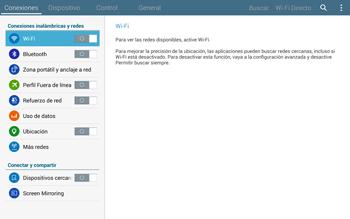 Configura el WiFi - Samsung Galaxy Note Pro - Passo 4