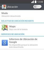 Uso de la navegación GPS - LG L40 - Passo 21