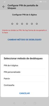 Desbloqueo del equipo por medio del patrón - Huawei P30 - Passo 7