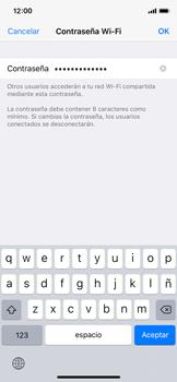 Configura el hotspot móvil - Apple iPhone X - Passo 5