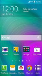 Desbloqueo del equipo por medio del patrón - Samsung Galaxy A3 - A300M - Passo 1