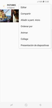Transferir fotos vía Bluetooth - Samsung Galaxy S8+ - Passo 7
