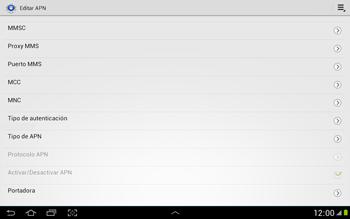 Configura el Internet - Samsung Galaxy Note 10-1 - N8000 - Passo 15