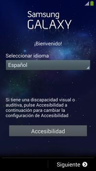 Activa el equipo - Samsung Galaxy Note Neo III - N7505 - Passo 3