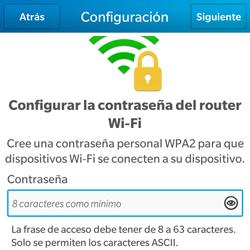 Configura el hotspot móvil - BlackBerry Q5 - Passo 11