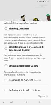 Samsung Health - Samsung A7 2018 - Passo 5