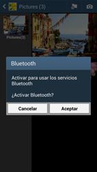 Transferir fotos vía Bluetooth - Samsung Galaxy Zoom S4 - C105 - Passo 10