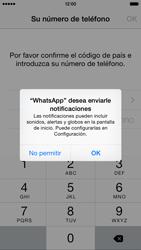 Configuración de Whatsapp - Apple iPhone 6s - Passo 5