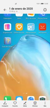 Tomar una captura de pantalla - Huawei P40 - Passo 9