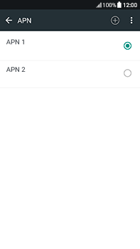 Configura el Internet - HTC U11 - Passo 15