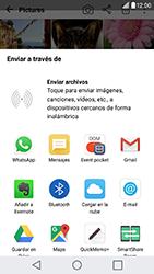 Transferir fotos vía Bluetooth - LG G5 SE - Passo 8