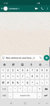 Usar WhatsApp - Samsung S10+ - Passo 6