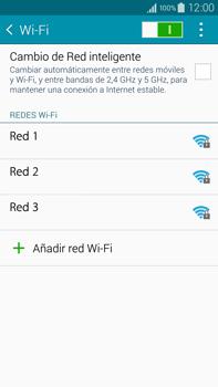 Configura el WiFi - Samsung Galaxy Note IV - N910C - Passo 6