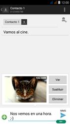 Envía fotos, videos y audio por mensaje de texto - Acer Liquid Z410 - Passo 17