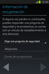 Crea una cuenta - Samsung Galaxy Fame GT - S6810 - Passo 13