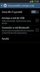 Configura el hotspot móvil - Samsung Galaxy Zoom S4 - C105 - Passo 6
