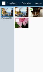 Envía fotos, videos y audio por mensaje de texto - Samsung Galaxy Core Prime - G360 - Passo 18