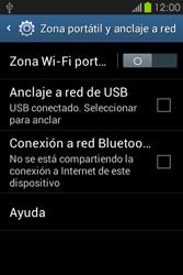 Comparte la conexión de datos con una PC - Samsung Galaxy Fame GT - S6810 - Passo 7