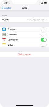 Desactivar la sincronización automática - Apple iPhone XS Max - Passo 7