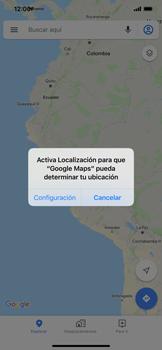 Uso de la navegación GPS - Apple iPhone 11 - Passo 4