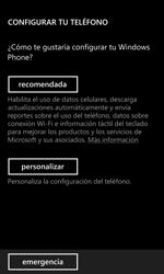 Activa el equipo - Nokia Lumia 920 - Passo 5