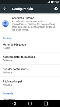 Configura el Internet - LG V20 - Passo 23