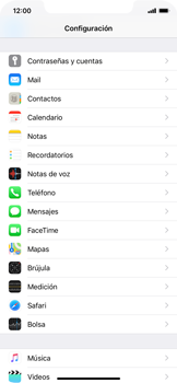 Desactivar la sincronización automática - Apple iPhone XS Max - Passo 3