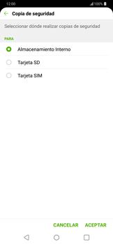 ¿Tu equipo puede copiar contactos a la SIM card? - LG G7 ThinQ - Passo 8