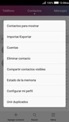 ¿Tu equipo puede copiar contactos a la SIM card? - Huawei Y3 II - Passo 4