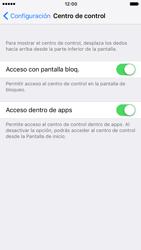 Centro de Control - Apple iPhone 7 - Passo 4