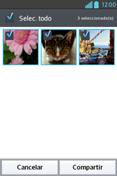 Transferir fotos vía Bluetooth - LG L4 II - Passo 7