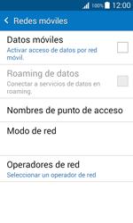 Desactiva tu conexión de datos - Samsung Galaxy J1 - J100 - Passo 7